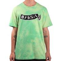 Camiseta Volcom Pistol Brasil  Verde