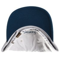 Boné Diamond Micro Un Polo Dad Hat Cinza/Azul