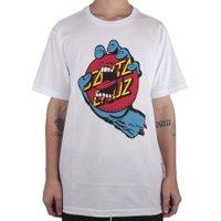 Camiseta Santa Cruz Screaming Dot Branco