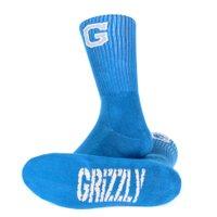 Meia Grizzly Goal Post Crew Azul
