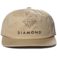 Boné Diamond Futura Sign Unstructured Khaki