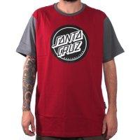 Camiseta Santa Cruz Esp Reverse Dot Vermelho