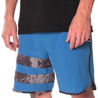 Bermuda Hurley Phanton Stripe Azul Agua