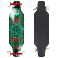Longboard W7 Cush Invertido Speed Verde/Branco