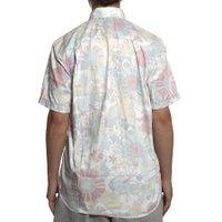 Camisa Vissla Bone Leafs Branco/Colorido