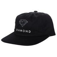 Boné Diamond Futura Sign Unstructured Preto
