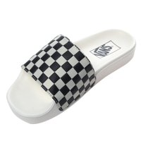 Chinelo Vans Slide-on Checkerboard Branco/Preto