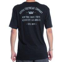 Camiseta Supra Contender Preto