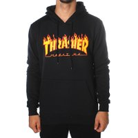 Moletom Thrasher Flame Preto