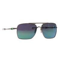 Óculos Oakley Deviation Prata/Verde