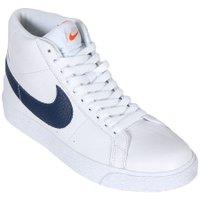 Tênis Nike Sb Zoom Blazer Mid Iso Branco/Azul