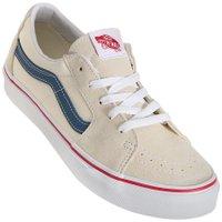 Tênis Vans Sk8-Low Classic Creme/Azul