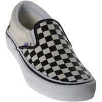Tênis Vans Slip-On Pro Checkboard Xadrez Creme/Preto