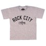 Camiseta Rock City Army Infantil Mescla