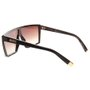 Óculos Evoke Futurah WD01 Wood Gradient Preto/Marrom/Dourado