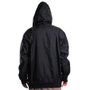 Jaqueta Rock City Windbreak Logo Capuz Preto