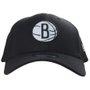 Boné New Era Nets Brooklyn Preto