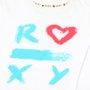 Moletom Roxy Infantil Dot Roxy Branco