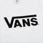 Camiseta Vans Classic Juv. Branco