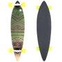 Longboard W7 Cush Seed Cinza/Verde