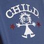 Camiseta Child Icon Azul Indigo