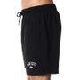 Bermuda Shorts Rock City Army Preto/Branco