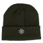 Gorro Independent Cross Ribbed Verde