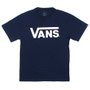 Camiseta Vans Classic Infantil Azul Marinho
