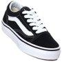 Tênis Vans Old Skool Juvenil Preto/Branco