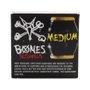 Amortecedor Bones Medium Preto/Amarelo