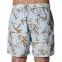 Bermuda Rock City Shorts Bamboo Azul Claro