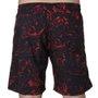 Bermuda Rock City Shorts Lavas Summer 21 Preto/Vermelho
