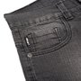 Bermuda Urgh Jeans Infantil Preto