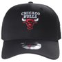 Boné New Era Aba Curva Chicago Bulls Clássico Preto
