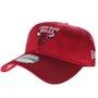 Boné New Era Aba Curva Chicago Bulls Clássico Vermelho