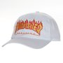 Boné Thrasher Magazine Dad Hat Logo Flame Branco