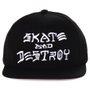 Boné Thrasher Magazine Skate And Destroy Preto