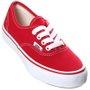 Tênis Vans Authentic Juvenil Vermelho