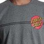 Camiseta Santa Cruz Classic Dot Chumbo Mescla