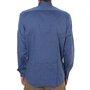 Camisa Rock City Manga Longa Basic Azul Jeans