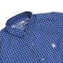 Camisa Rock City Xadrez 2020 Infantil Azul