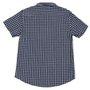 Camisa Rock City Xadrez 2020 Infantil Azul Marinho
