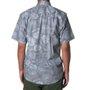 Camisa Vissla Padang Cinza Claro