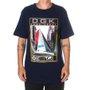 Camiseta DGK Compass Azul Marinho