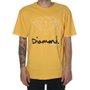 Camiseta Diamond Og Sign Logo Amarelo