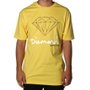 Camiseta Diamond Sign Logo Amarelo