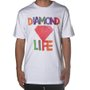 Camiseta Diamond Watercolor Front And Back Branco