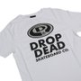 Camiseta Dropdead Elipse Futura Infantil Branco