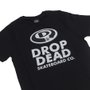 Camiseta Dropdead Elipse Futura Infantil Preto