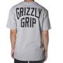Camiseta Grizzly All City Pocket Mescla